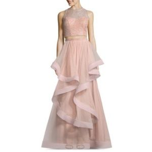 Light Pink Speechless Layer Prom Dress Size 0